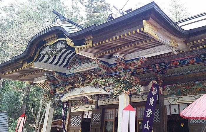宝登山神社 本殿