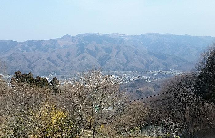 宝登山頂 景色