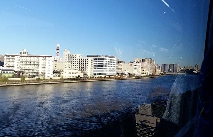 東北急行バス日光線車窓
