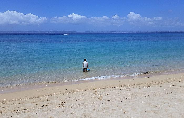 トゥマイ浜と人
