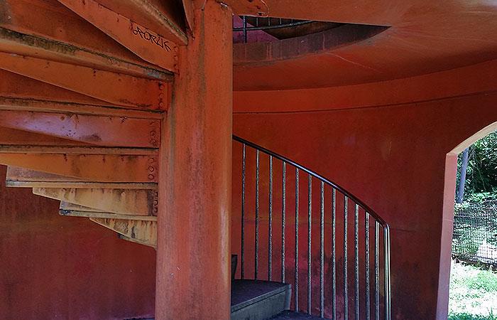 にんじん展望台 階段