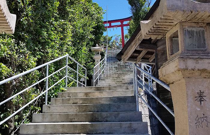 天燈山 階段