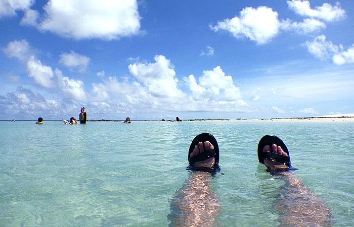 はての浜 海水浴