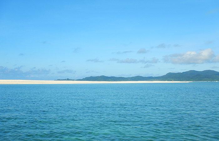 久米島と海