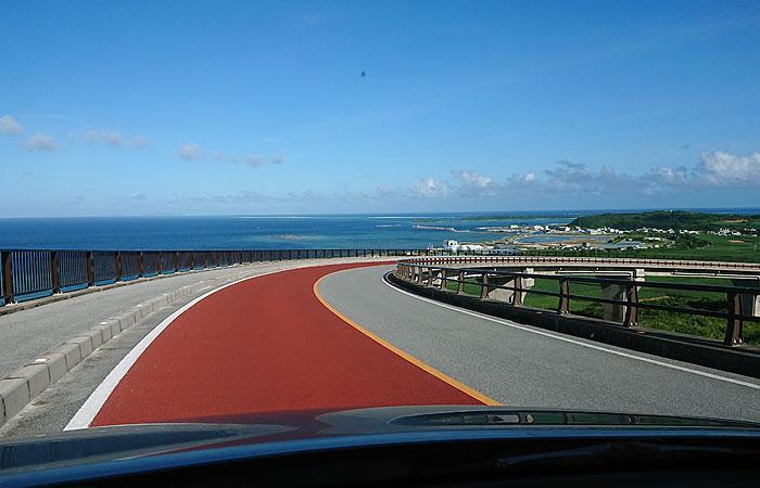 久米島の道路