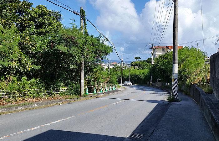 奥武島への道